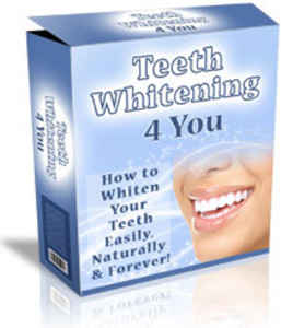 whiten teeth at home fast