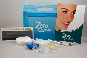zero peroxide teeth whitening