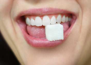 sugar bad for teeth