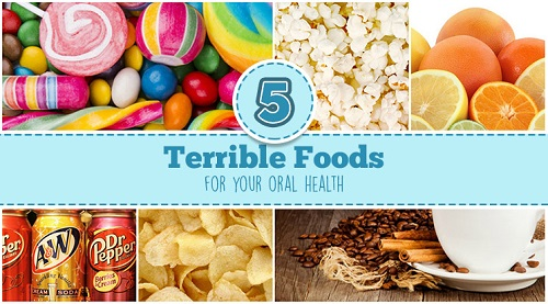 5 foods bad for your teeth